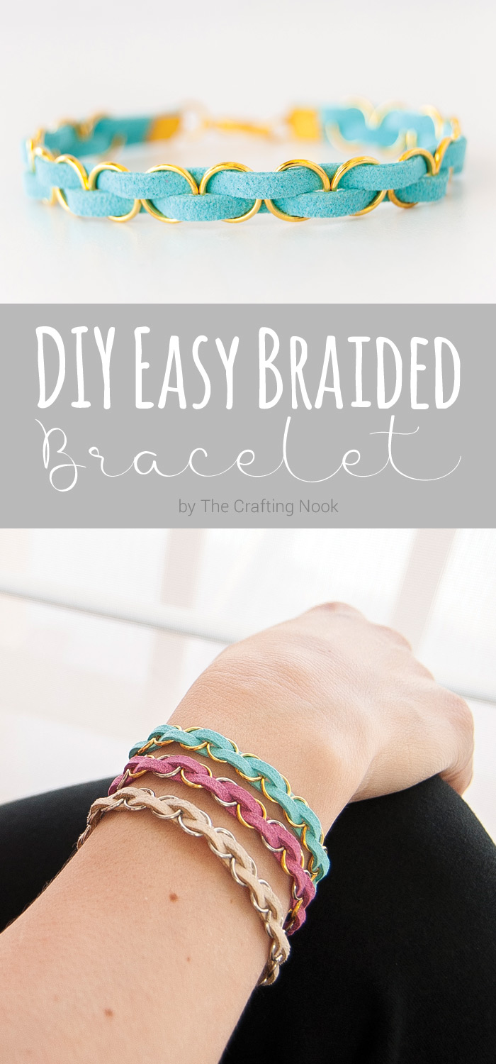 DIY Easy Braided Bracelet