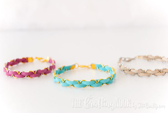 DIY-Easy-Braided-Bracelet-Trio