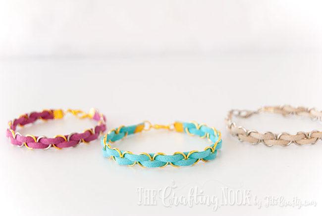 DIY-Easy-Braided-Bracelet-Trio