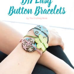 Cute DIY Easy Button Bracelets
