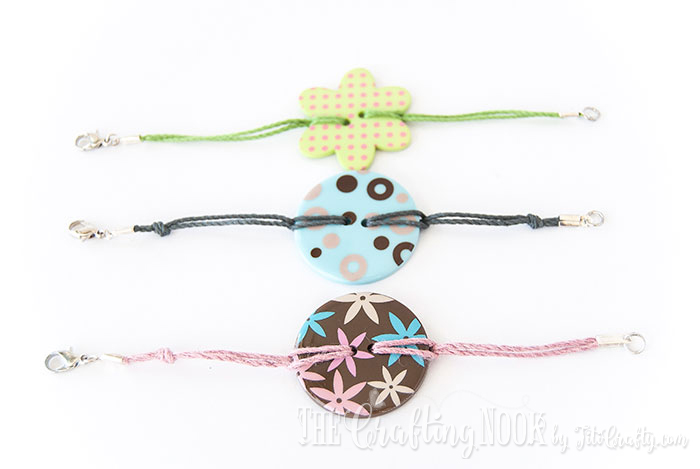 DIY-Easy-Button-Bracelets-colorful