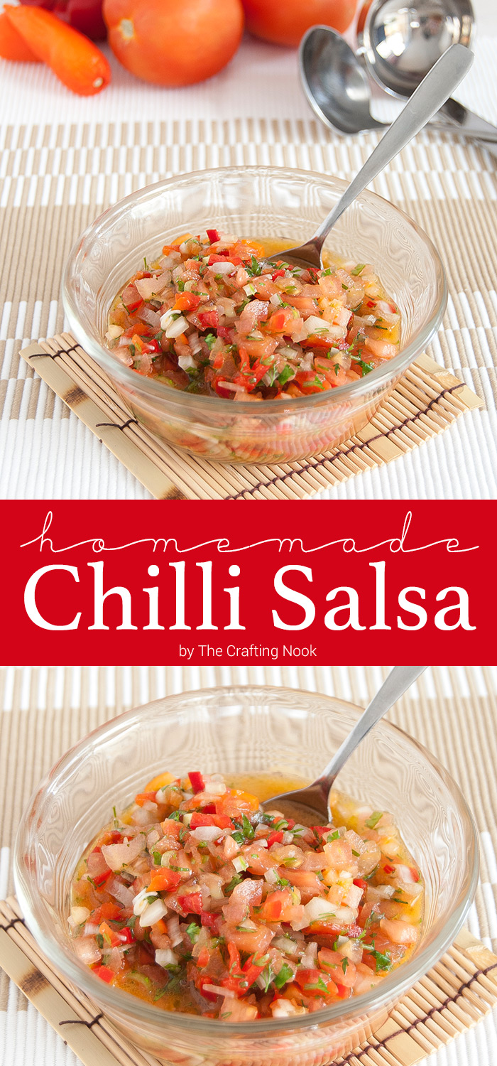 Homemade Chilli Salsa
