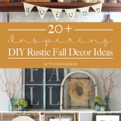 DIY Rustic Fall Decor Ideas