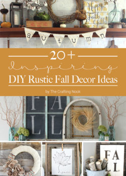 20+ Inspiring DIY Rustic Fall Decor Ideas