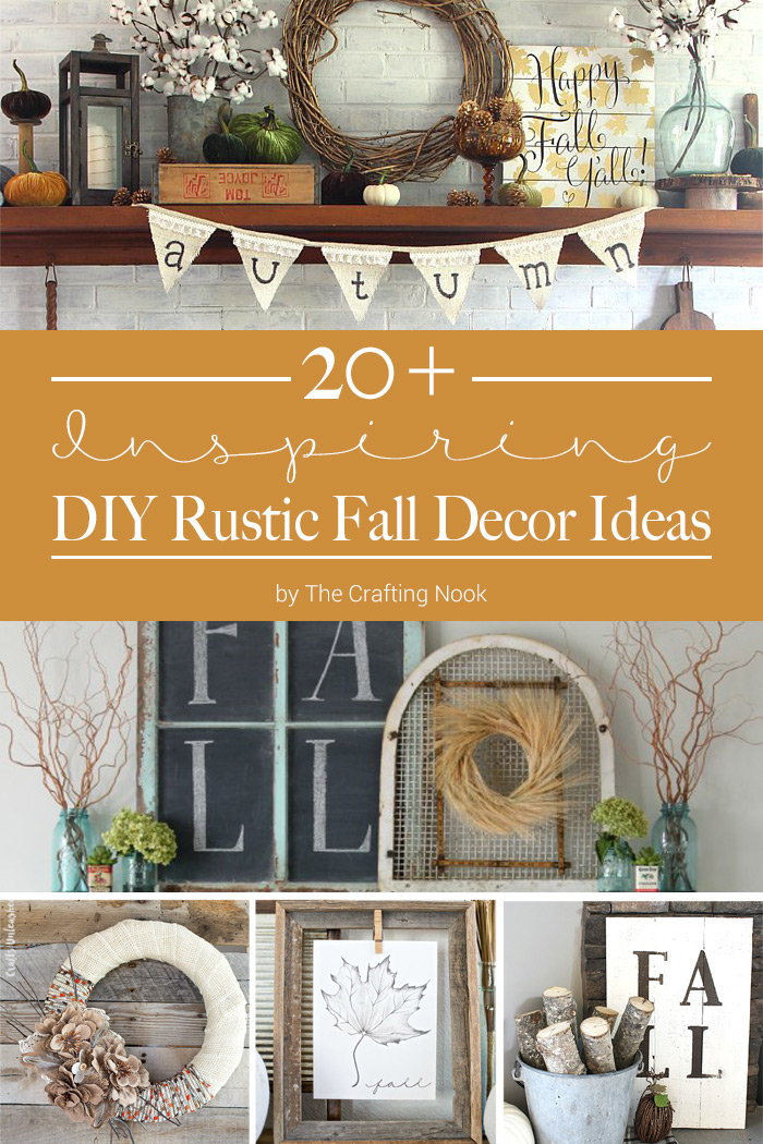 20 inspiring diy rustic fall decor ideas the crafting for Northwoods decor