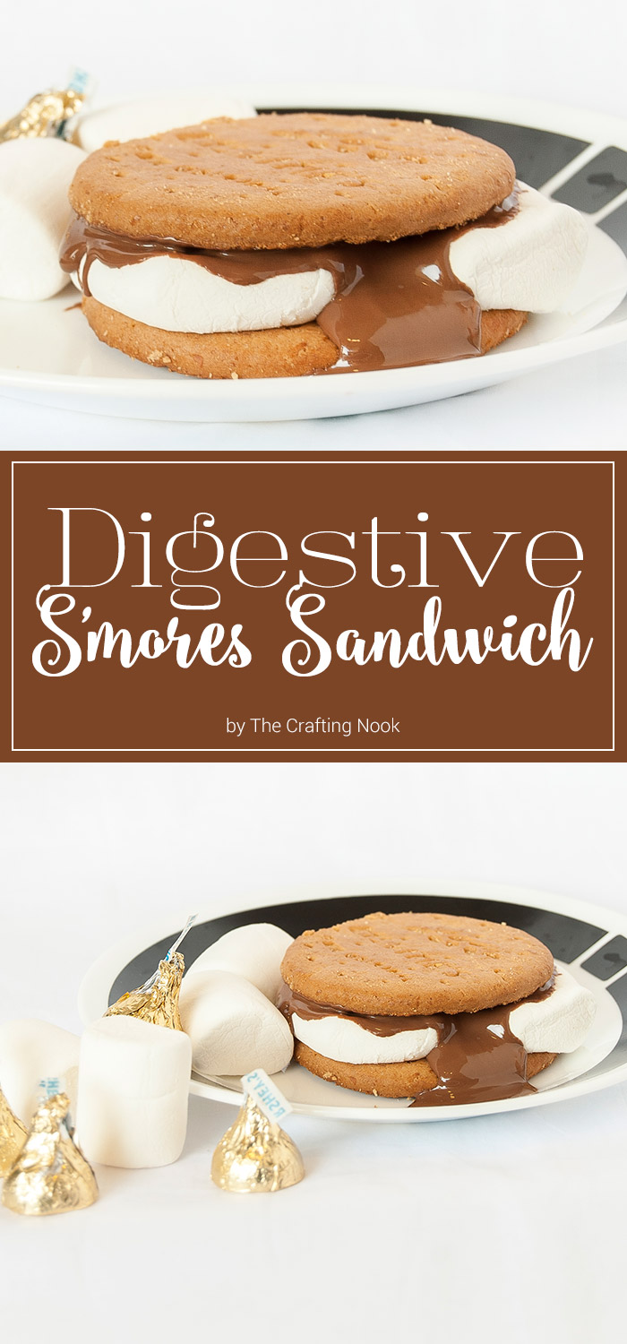 Digestive S'mores Sandwich
