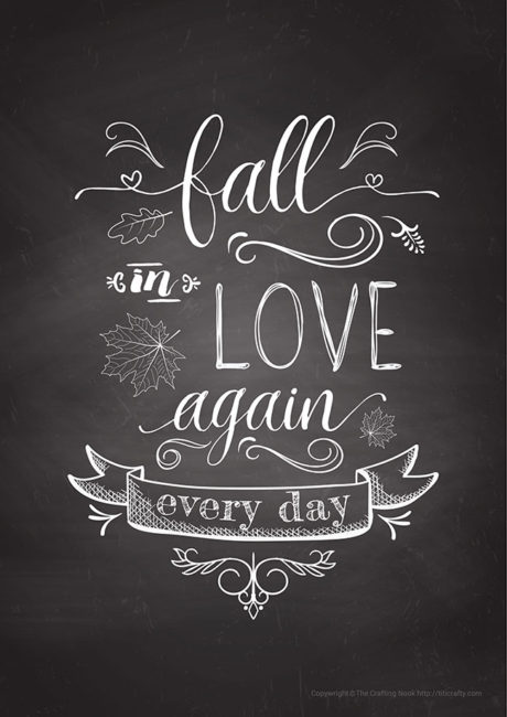 FALL-in-love-again-Free-Printable-A4