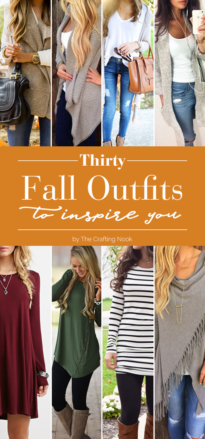 30 Fall Outfits to Inspire You