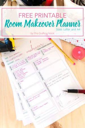 Free Room Makeover Planner Printable