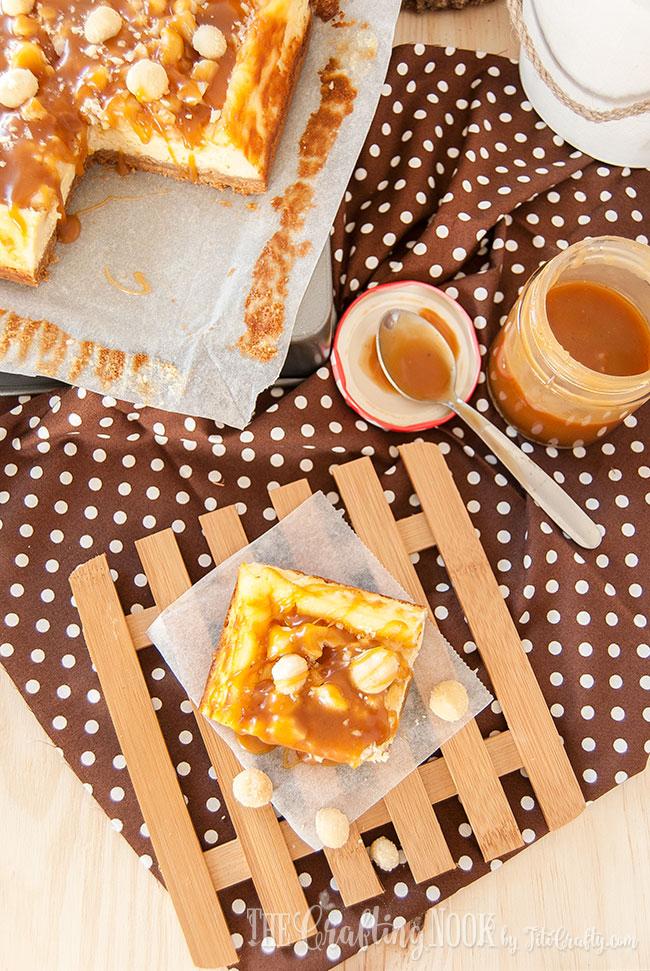 salted-caramel-macadamia-cheesecake-bars-delicious