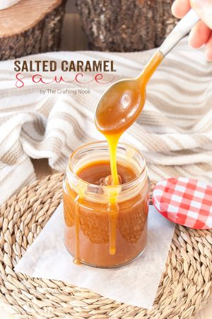 Salted Caramel Sauce (Deliciously Addictive)