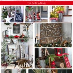 25+ Farmhouse Inspired Christmas Decor Ideas for this year