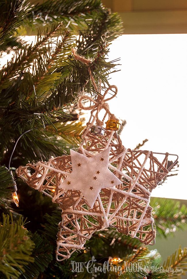 glittered-twine-star-christmas-ornament-rustic
