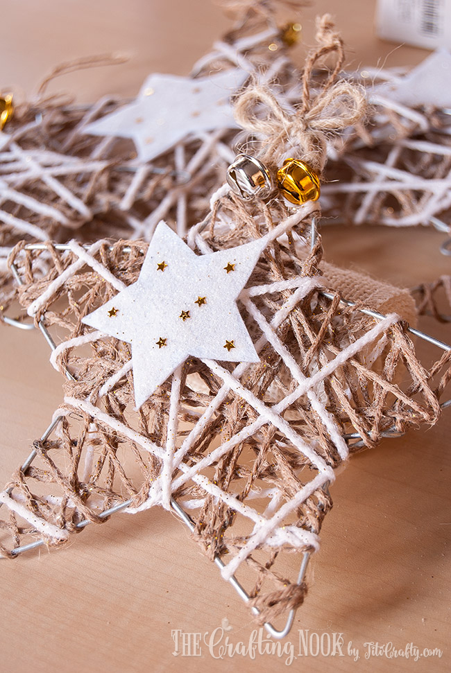 glittered-twine-star-christmas-ornament-stylish