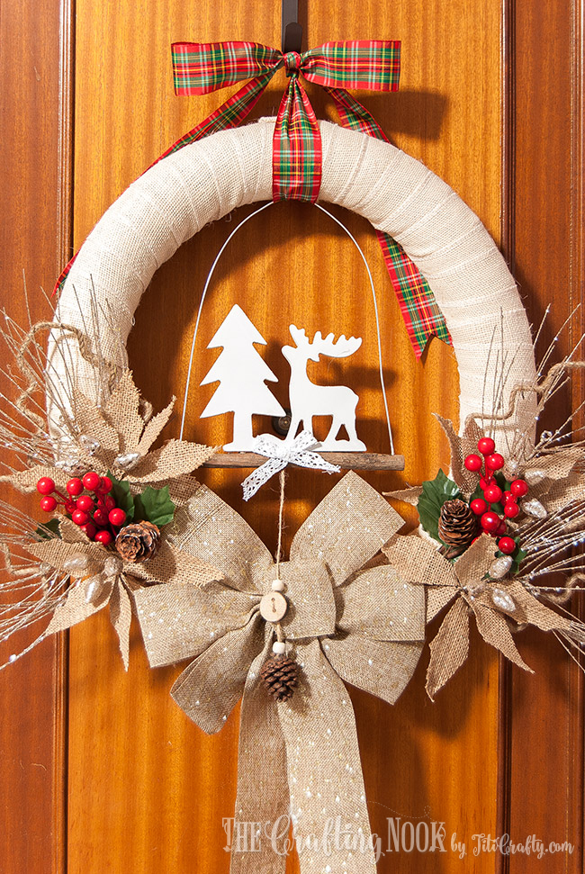 rustic-burlap-christmas-wreath-easy
