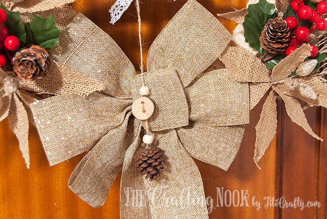 rustic-burlap-christmas-wreath-bow