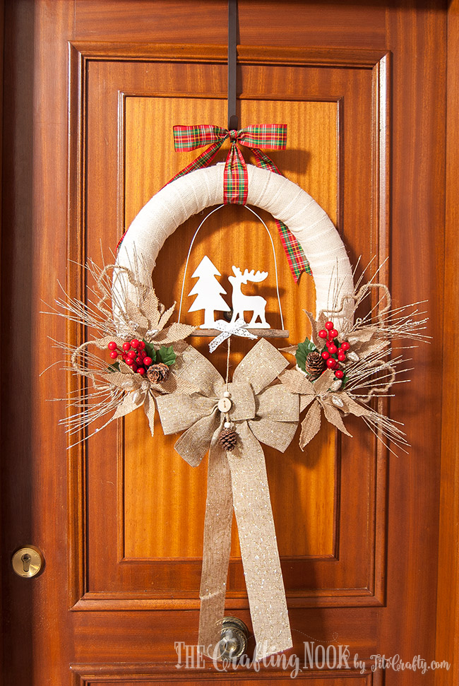 rustic-burlap-christmas-wreath-cute