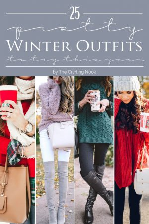 25 Pretty Winter Outfits to Try this Year