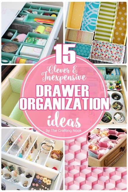 15 Clever and Inexpensive Drawer Organization Ideas for you