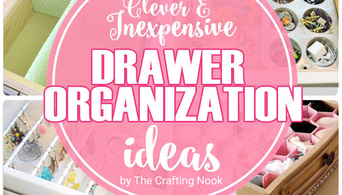 15 Clever and Inexpensive Drawer Organization Ideas