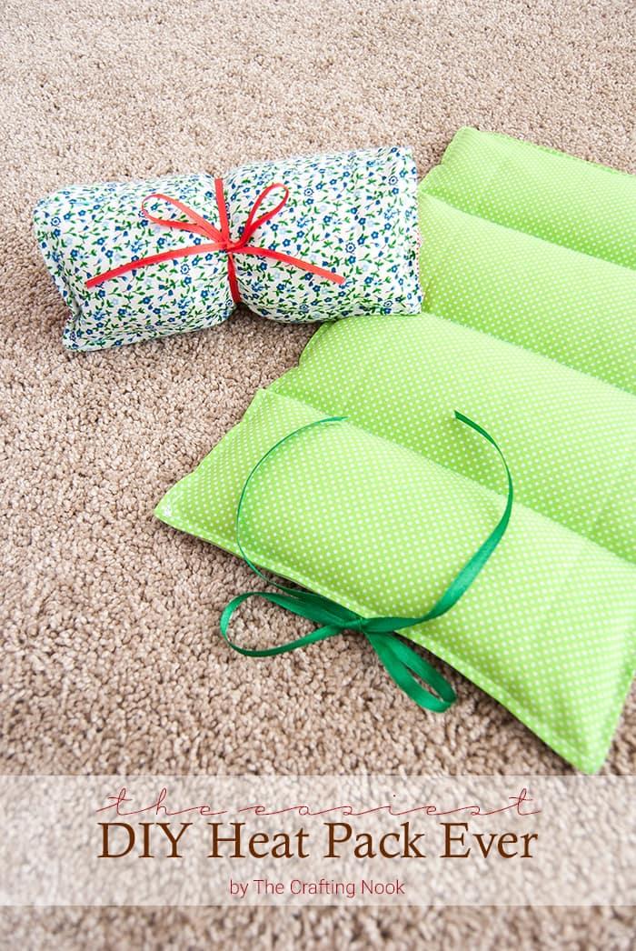 DIY Christmas Gift Heat Pack