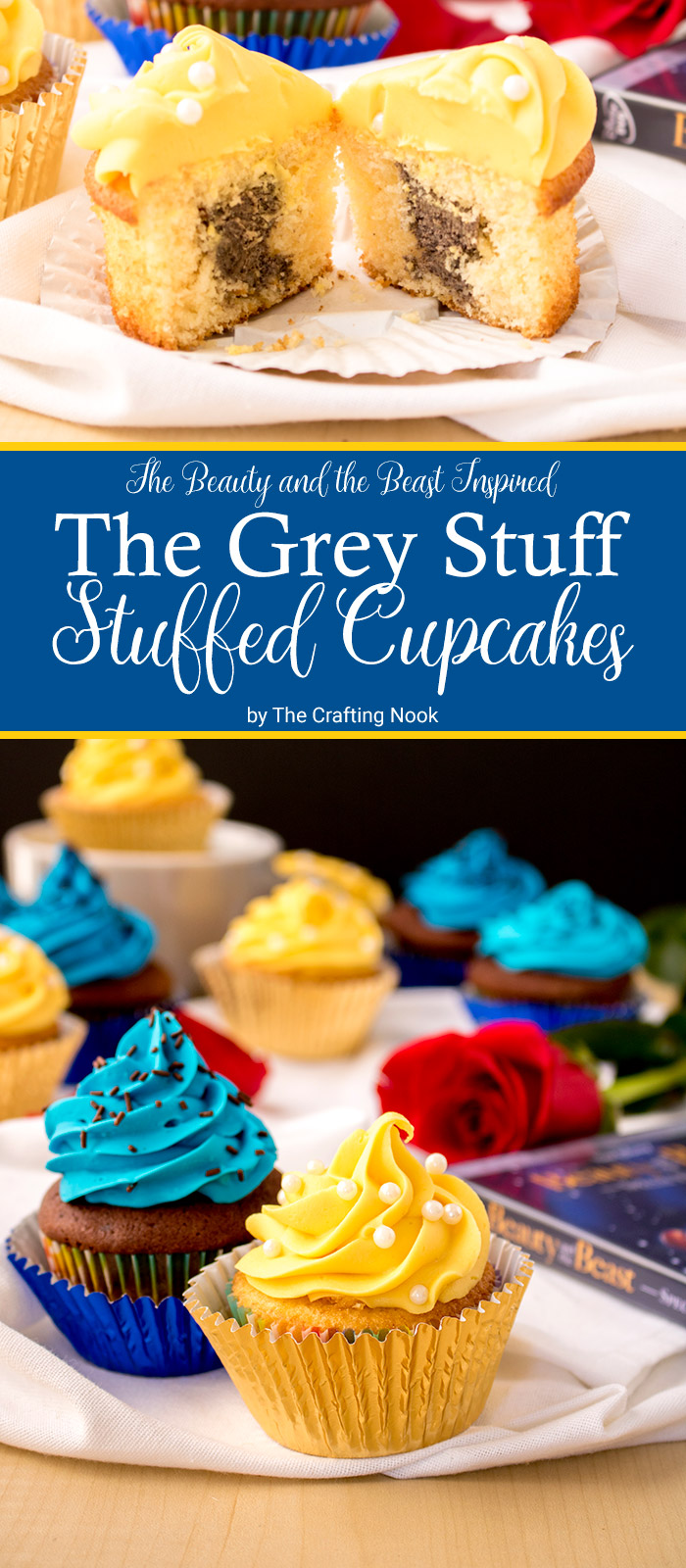 The Grey Stuff Stuffed Cupcakes
