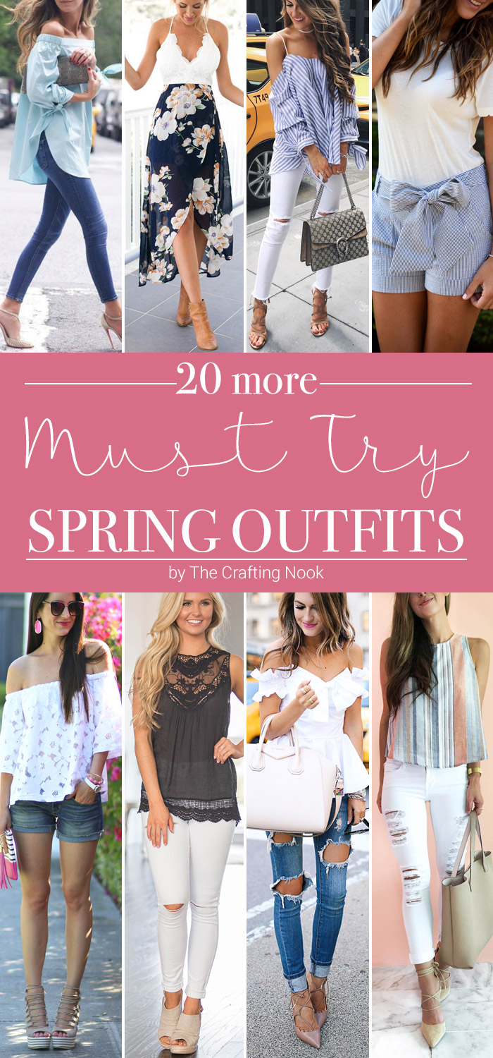 Must Try Spring Outfits Ideas