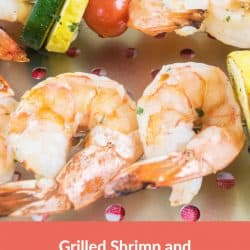 Grilled Shrimp and Veggies Kabobs Recipe