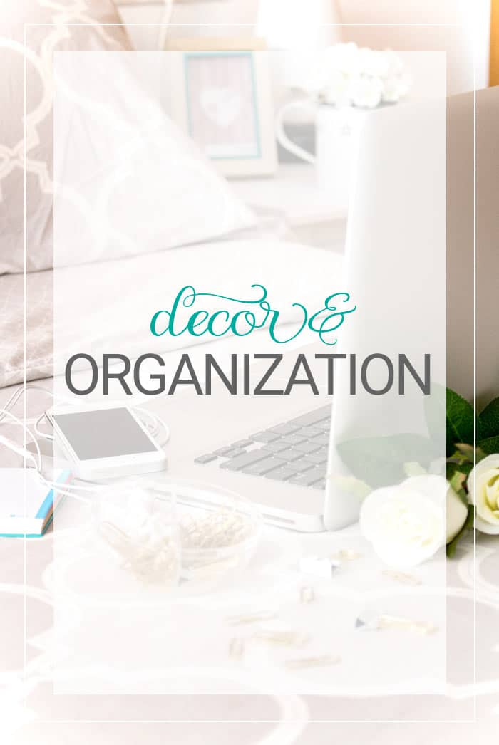 All About Decor and Organization