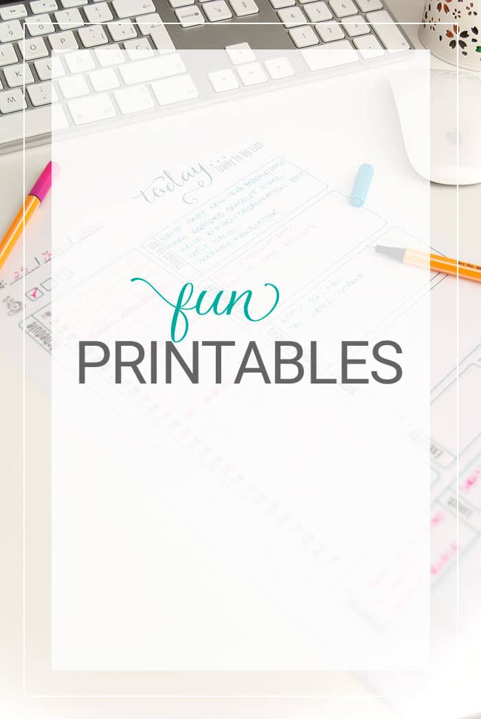 All about Printables