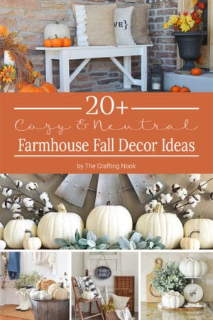 20 Cozy Farmhouse Fall Decor Ideas