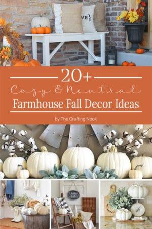 20 Cozy Farmhouse Fall Decor Ideas