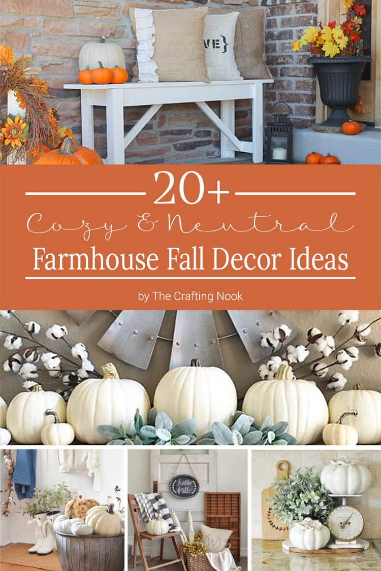 fall crafting ideas 20 cozy farmhouse fall decor ideas the crafting nook by 1979