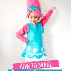 How to Make Troll's Poppy Costume Tutorial