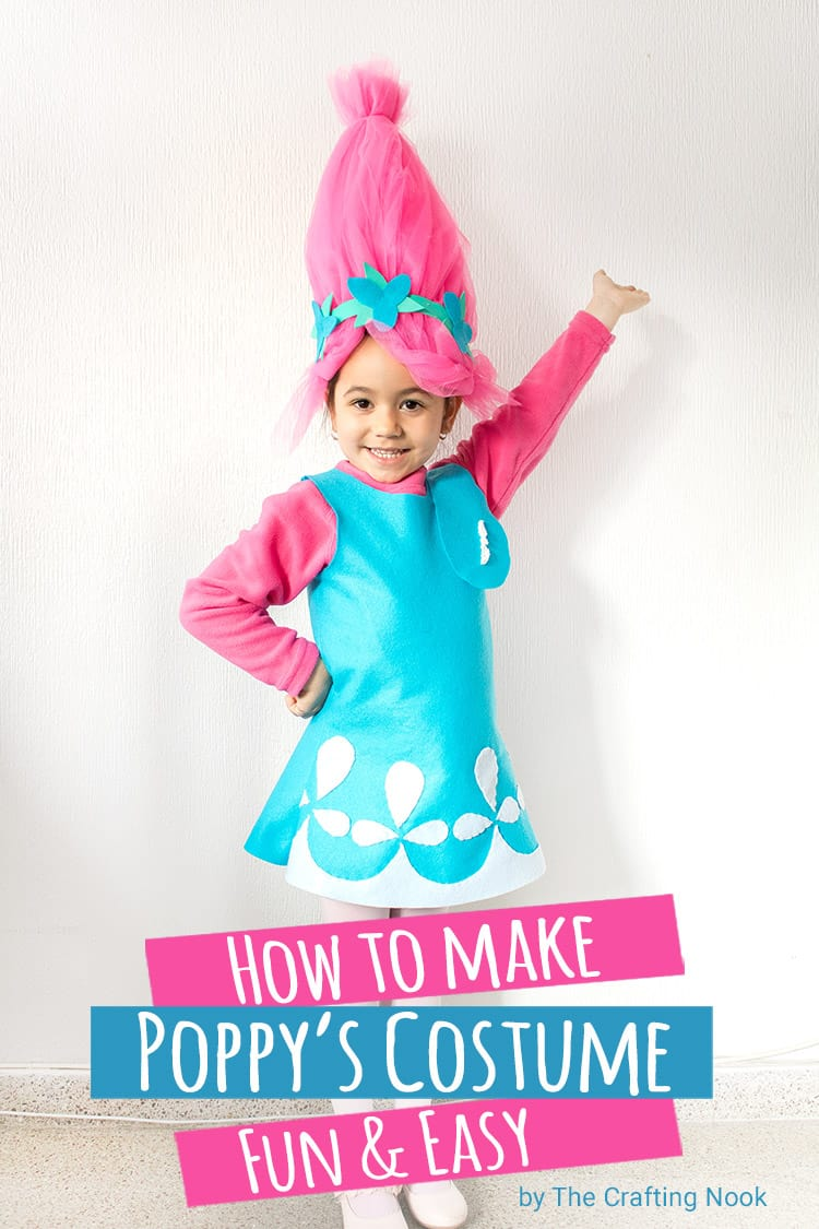 How to Make Poppy Troll Costume Tutorial