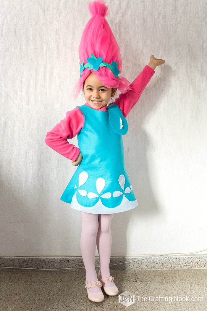 0aca81c1b38c7 What Fabrics Can Be Used For This Poppy Troll Costume? Sc 1 St The Crafting  Nook