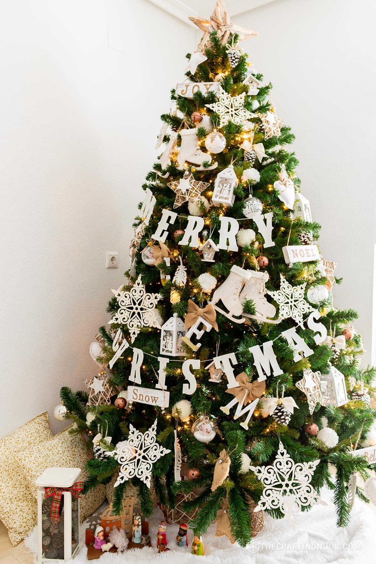 Put Up A Fake Christmas Tree