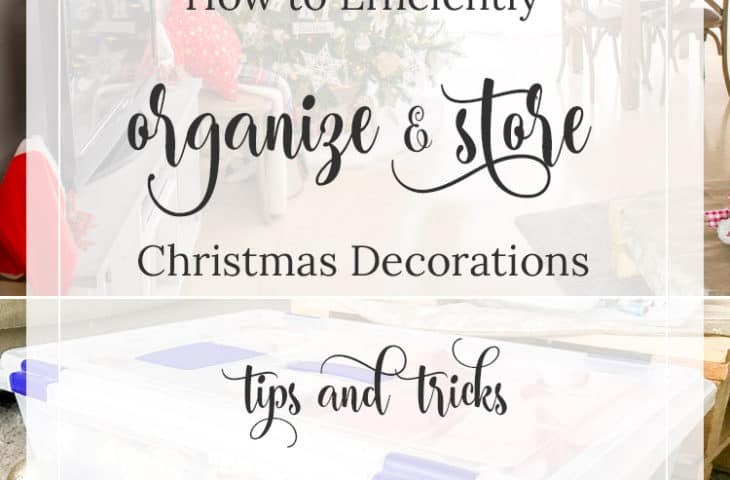 How to Efficiently Organize and Store Christmas Decorations tips
