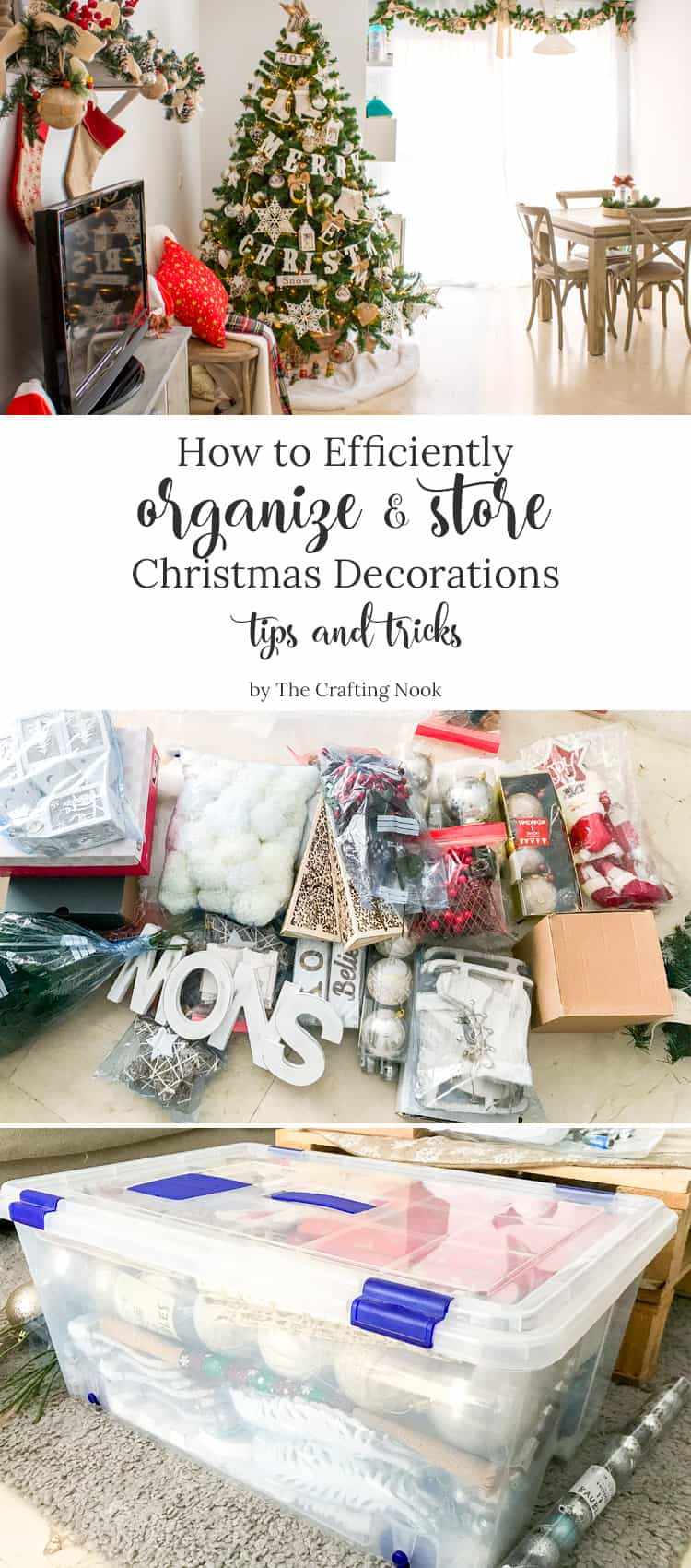How to Efficiently Organize and Store Christmas Decorations