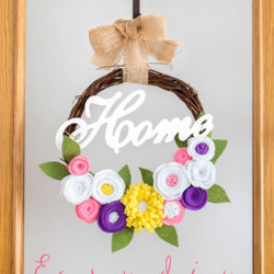Easy DIY Rustic Spring Wreath