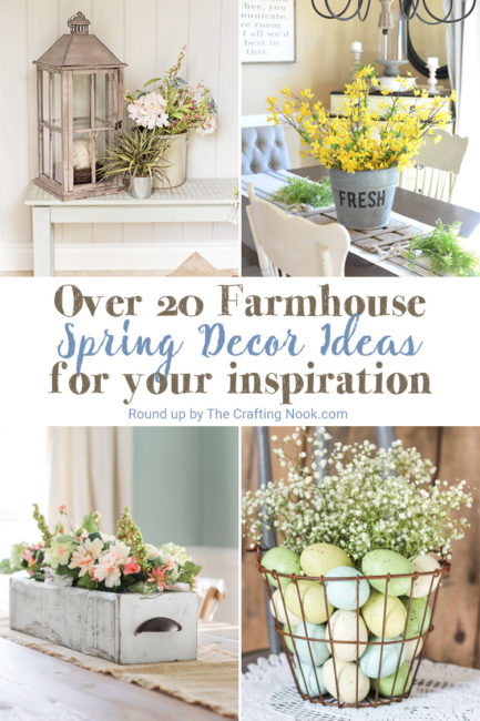 Farmhouse Spring Decor Ideas to Try