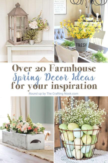 Farmhouse Spring Decor Ideas to Try