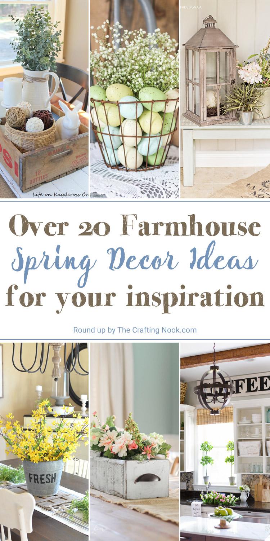 Farmhouse Spring Decor Ideas