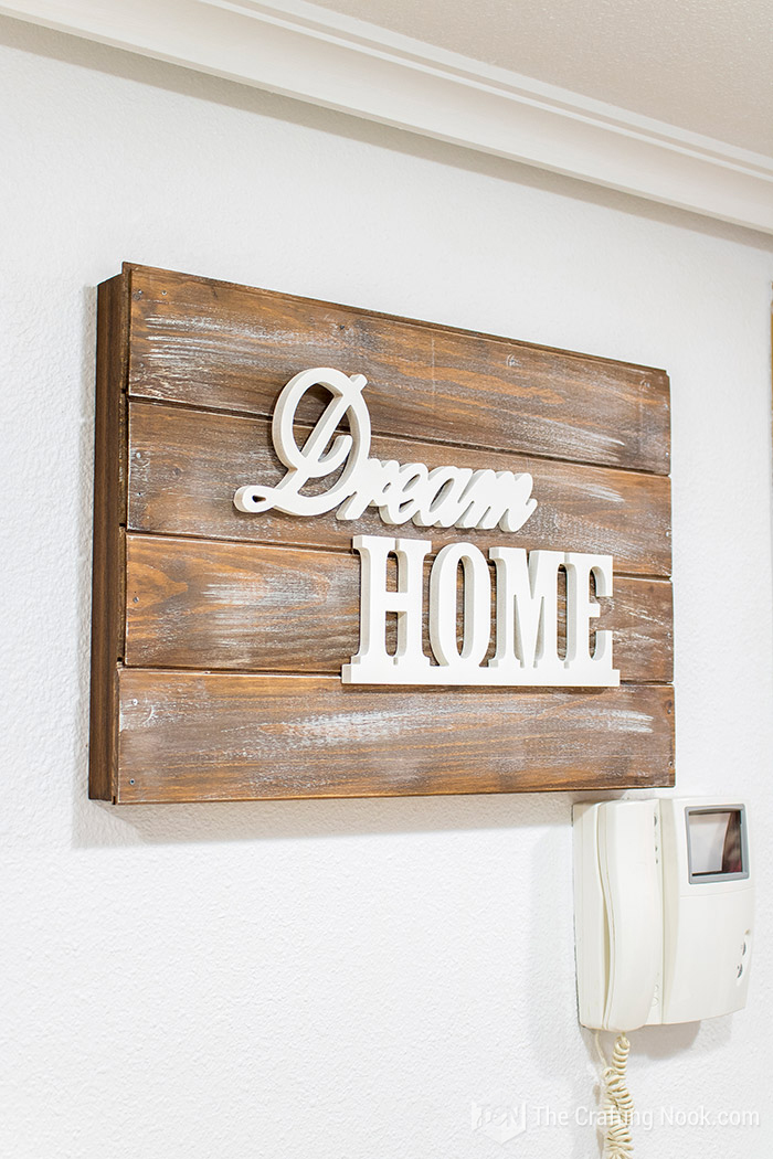 Decorative Rustic Wooden Sign Electrical Panel Cover