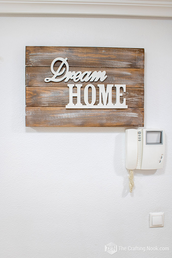 Fun Rustic Wooden Sign Electrical Panel Cover