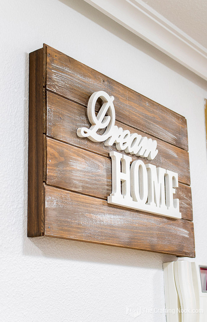 Easy Rustic Wooden Sign Electrical Panel Cover