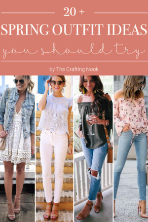 20+ Pretty Spring Outfit Ideas you Should Try.