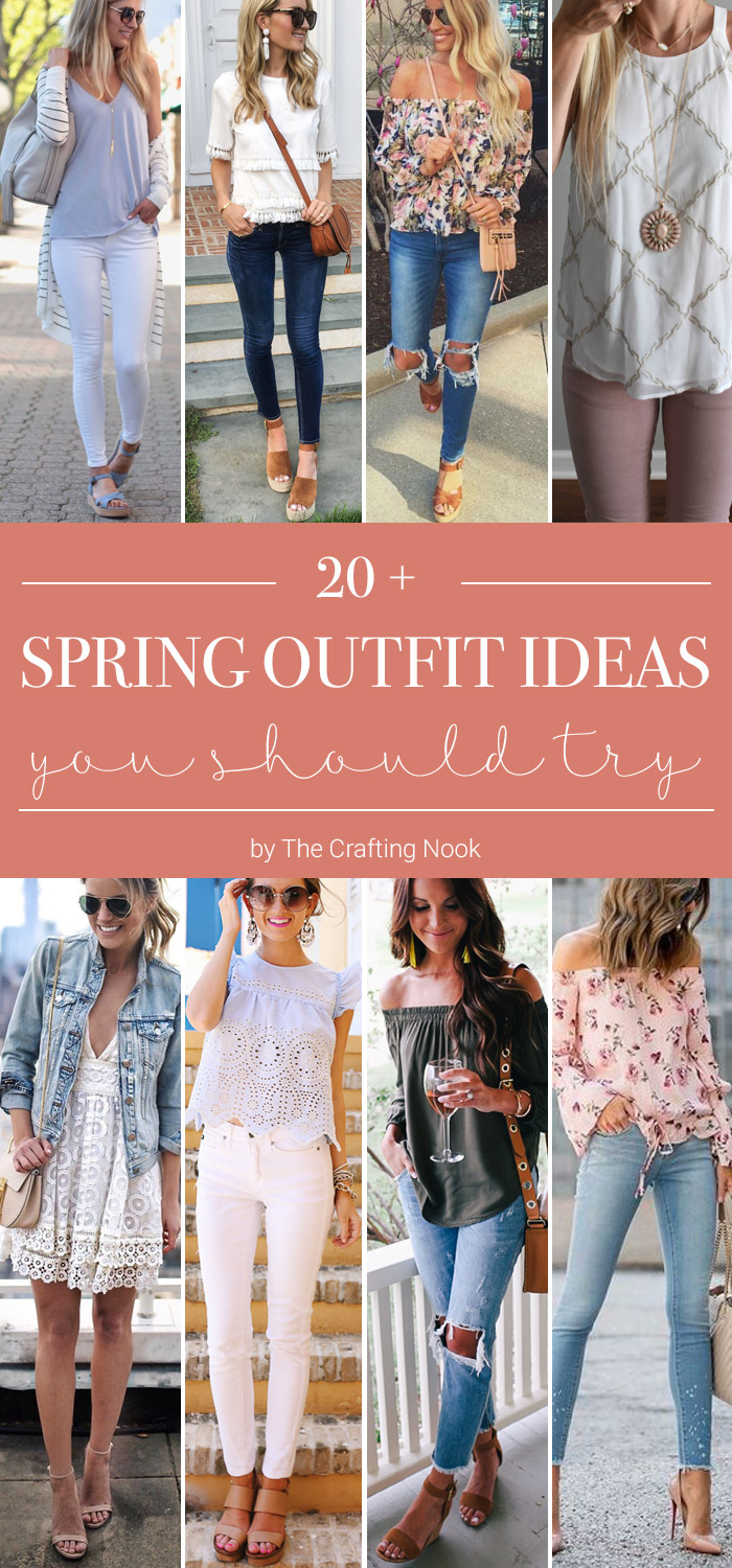 Round up of Pretty Spring Outfit Ideas you should Try this spring.