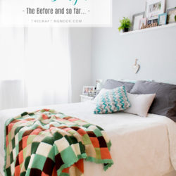 Small Apartment Decor Series:Small Master Bedroom Decor on a Budget (The Before and So far)