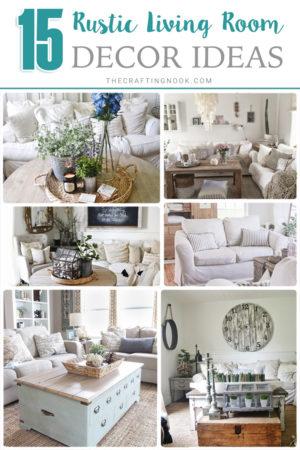 15 Cozy Rustic Living Room decor Ideas